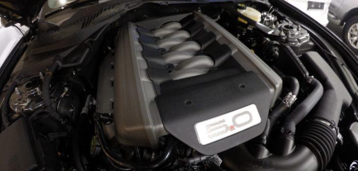 2015 Mustang GT 5.0 V8 Motor & Egzoz Sesi