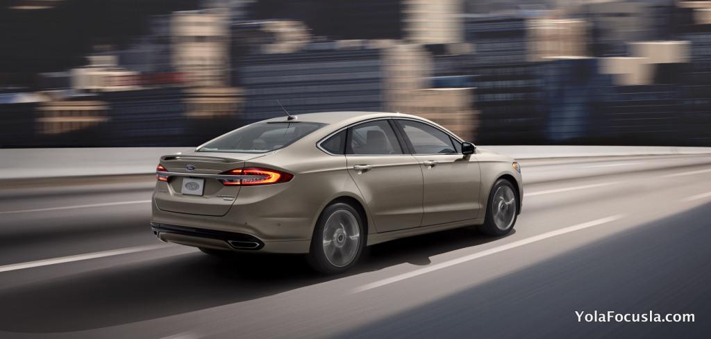2017 Ford Fusion Adaptif Hız Sabitleme