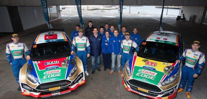 Avrupa Ralli Şampiyonası Takımlar Şampiyonu, Castrol Ford Team Türkiye
