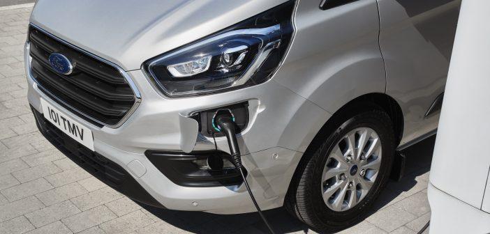 Yeni Ford Transit Custom Plug-in Hibrit (PHEV) Tanıtıldı